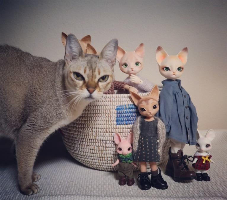 猫と猫と猫