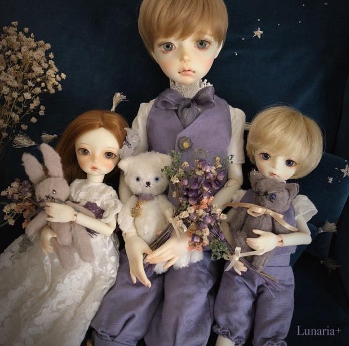 Princes and Princess of Lunaria Kingdom