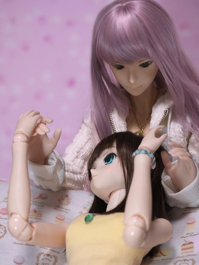 紫藤さんと ななかちゃん