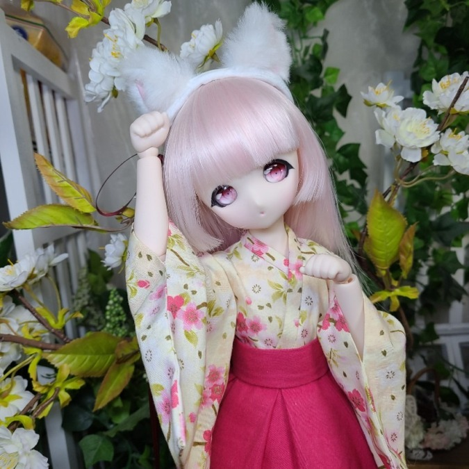 桜の妖精が舞い降りた日
